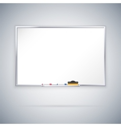 Office Whiteboard vector image vector image
