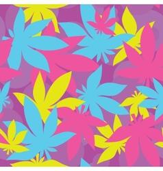 Ganja pattern vector image