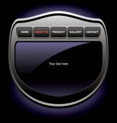 Website gadget vector