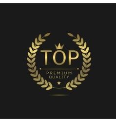 Top golden label vector