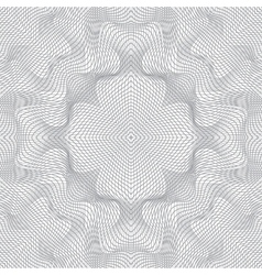 abstract guilloche background vector image vector image