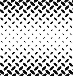 Black and white diagonal ellipse pattern vector