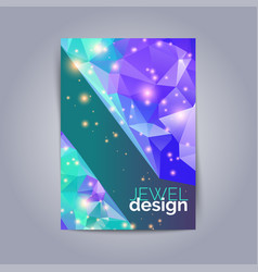 Futuristic design posters future geometric design vector