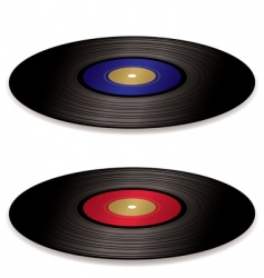 LP record album flat vector image vector image