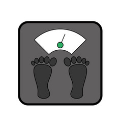 Weight body balance vector
