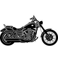 Motorcycle package vector