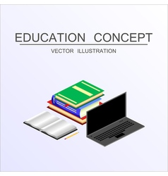 Concept education 22 vector