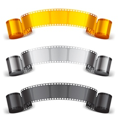 Movie tape vector image