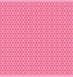Pink linear geometric pattern vector