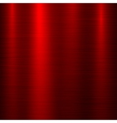 Red metal technology background vector