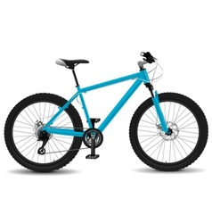 Montain bike vector image