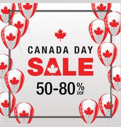 Canada day sale vector