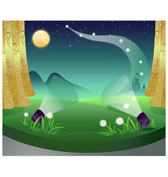 Castle Fantasy Stage vector image