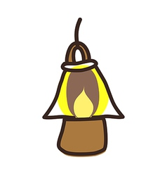 icon lamp vector image vector image