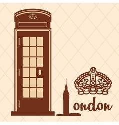 London icon design vector image vector image