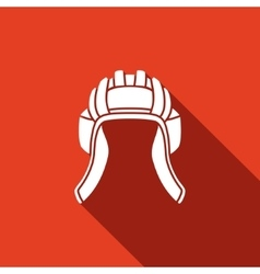 Tankman hat icons vector