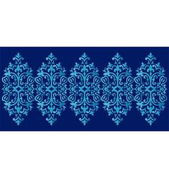 Antique ottoman turkish pattern design sixty six vector