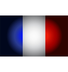 French black flag vector image