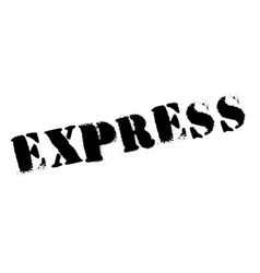 Express rubber stamp vector