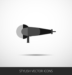 Grinder in a flat style with shadow vector