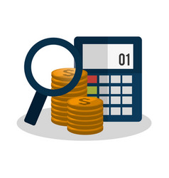 economy or money related icons image vector image