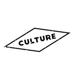 Culture rubber stamp vector