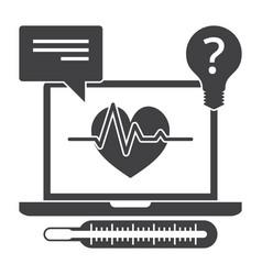 online medical services vector image