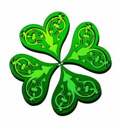 St patrick design vector
