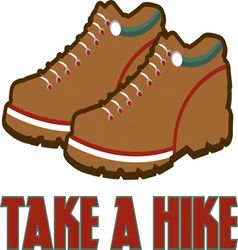 Take a hike vector