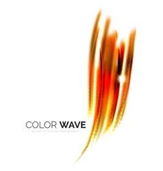 Blurred wave design elements vector