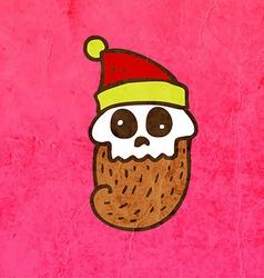 Dead Santa Claus Cartoon vector image vector image