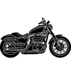 Motorcycle Package - Detailed vector image vector image