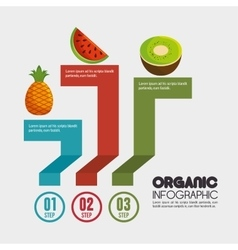 Nutrition food infographic icons vector