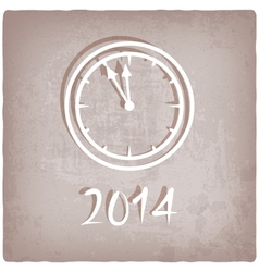 old background with watch vector image