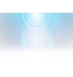 Glowing light beams vector