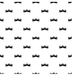 great wall of china pattern vector image