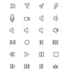 Ios and android icons 8 vector