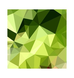 Electric lime green abstract low polygon vector
