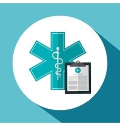 Medical care design health care icon colorfull vector