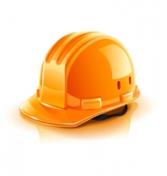 Construction helmet vector