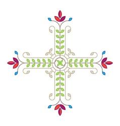 Elegance design element template for pattern vector image