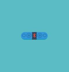 flat icon loudspeaker element vector image vector image
