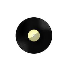Vinyl white vector image vector image
