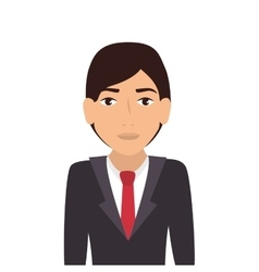 Man guy boy person suit tie face head vector