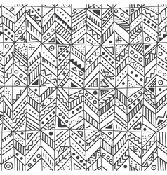 Ethnic ornate seamless pattern parts vector
