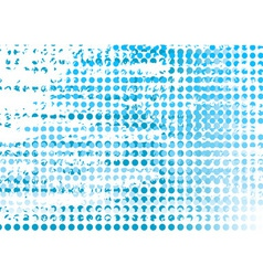 blue backgroun on the white vector image vector image