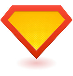 Super hero logo vector