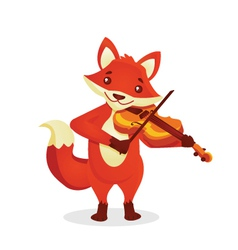 Musical animals vector image