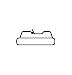 Kids car icon vector