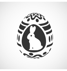 Decorative egg vector